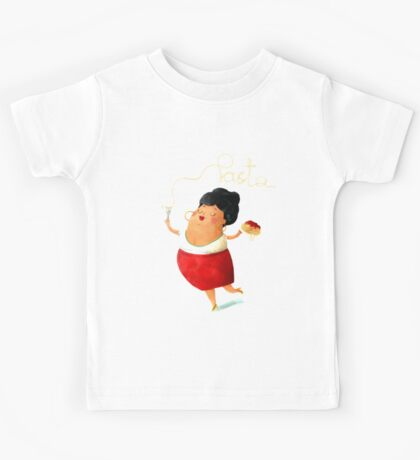 Spaghetti Pasta Lady Kids Clothes