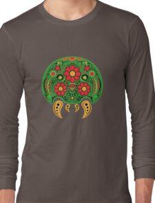 Dia De Los Metroids Long Sleeve T-Shirt