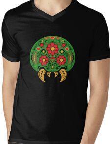 Dia De Los Metroids Mens V-Neck T-Shirt