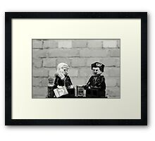 Sid & Nancy Framed Print
