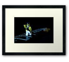 Lego Freddie Mercury Framed Print