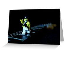 Lego Freddie Mercury Greeting Card