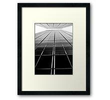 City Blocks Framed Print