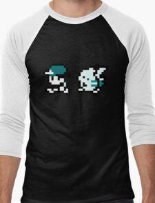 Grayscale Ash Walking Pikachu T-Shirt