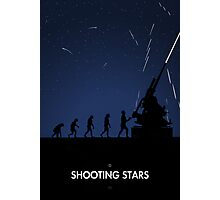 99 Steps of Progress - Shooting stars Photographic Print