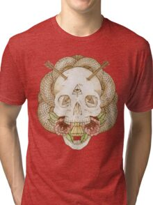 Skulls and Arrows Tri-blend T-Shirt