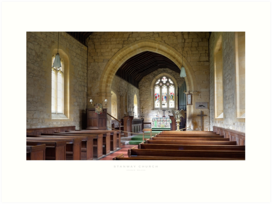 Stanway Church, Gloucestershire by Andrew Roland