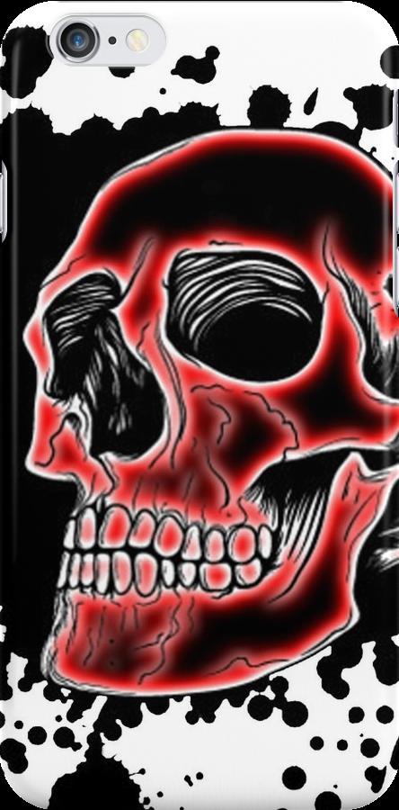 Skull Glow case 1 by MrBliss4