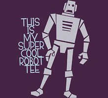 My Super Cool Robot Tee Womens Fitted T-Shirt