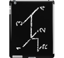 VW iPad case - VW Gear Shift - White on Black iPad Case/Skin