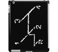 VW iPad case - VW Gear Shift - White on Black iPad Case/Skin
