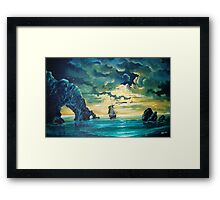 Midnight Voyage Framed Print