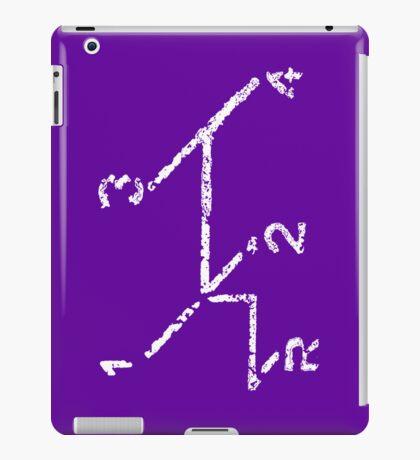 VW iPad case - VW Gear Shift - White on Purple iPad Case/Skin