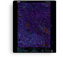 USGS TOPO Map New Hampshire NH Sanbornville 329775 2000 24000 Inverted Canvas Print