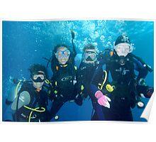 Nicole, Sheree, Alan and Sheila Poster