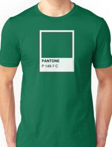 Colours of Red Bubble: Green Unisex T-Shirt