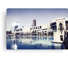 Dubai Mall Canvas Print