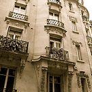 parisian facade by kchamula