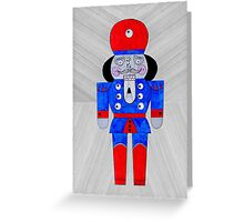 Mister NutCracker Greeting Card