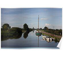 Dutch waterways Poster
