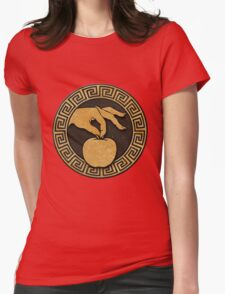 Weight of the World Logo Womens Fitted T-Shirt