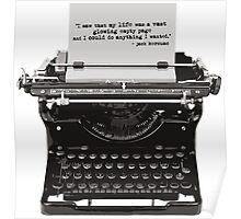 Optimistic Kerouac Poster