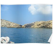 Sailing the Greek Islands #photography Poster