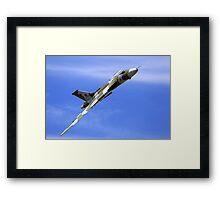 "Avro Vulcan XH558 ""Spirit of Great Britain"" Framed Print"