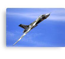 "Avro Vulcan XH558 ""Spirit of Great Britain"" Canvas Print"