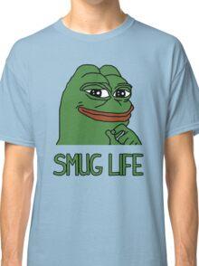 """PEPE FROG """"SMUG LIFE"""" SHIRTS + MORE Classic T-Shirt"""