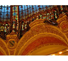 the magnificent galleries lafayette Photographic Print