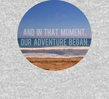 And In That Moment, Our Adventure Began Womens Fitted T-Shirt