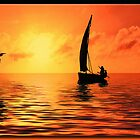 Sailing on the Sea by Richard  Gerhard