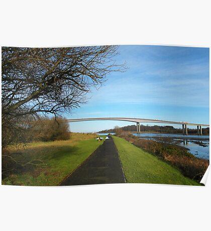 Foyle Bridge, Derry Poster