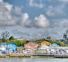 Fort Charlotte view from Arawak Cay in Nassau, The Bahamas by Jeremy Lavender Photography