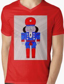 Mister NutCracker Mens V-Neck T-Shirt