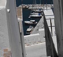 Greek Island Stone Staircase by SlavicaB