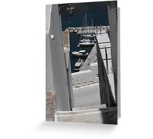 Greek Island Stone Staircase Greeting Card