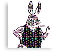 Spotted Bunny Canvas Print
