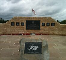 Falklands War Memorial by Katie Vickery