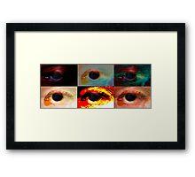 sex eyes Framed Print