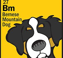 Bernese Mountain Dog - The Dog Table by Angry Squirrel Studio
