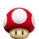 Super Mario Mushroom by ioanna1987