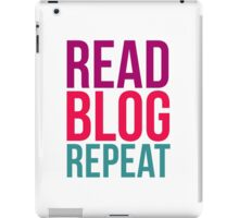 READ. BLOG. REPEAT. iPad Case/Skin