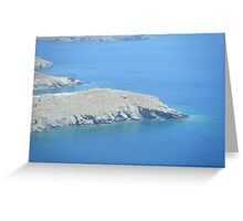 Amazing Greek Islands Greeting Card