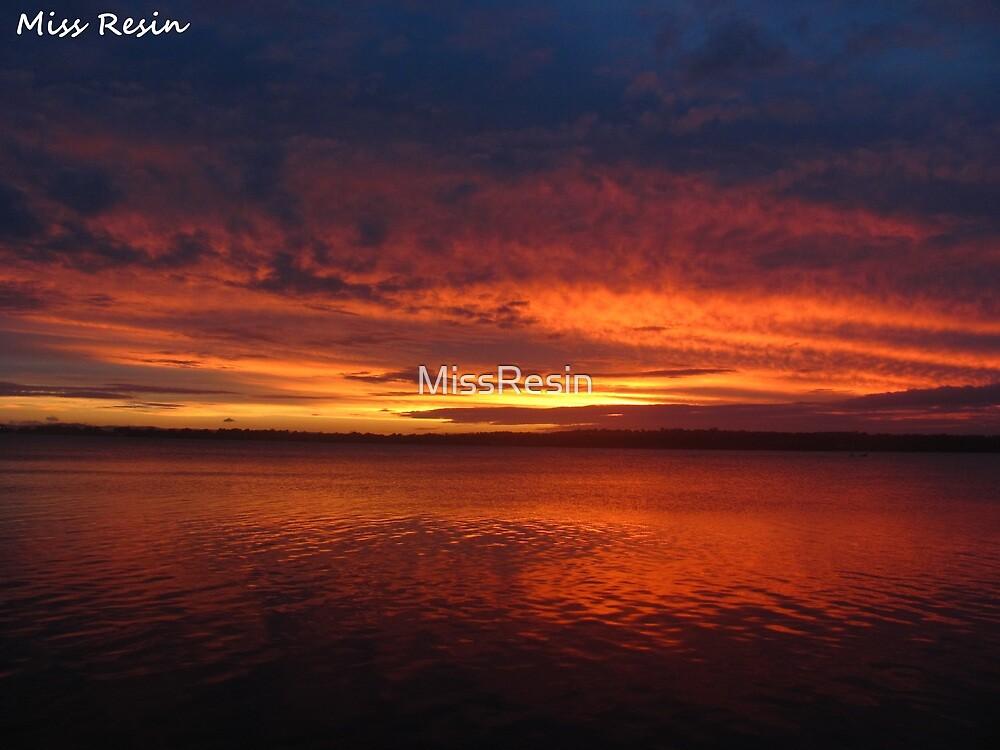 Harsh Sunset by MissResin