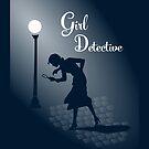 Girl Detective iPad by electrasteph