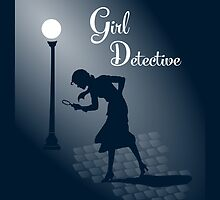 Girl Detective iPad by electrasteph