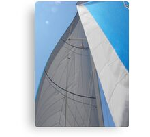 Sailboat Amel Sail in the sky 1 #photography Canvas Print