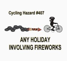 Cycling Hazards - Holidays Involving Fireworks by Weber Consulting
